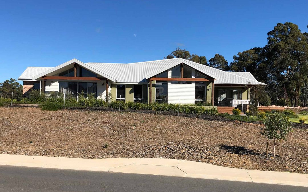 Parkerville – Complete electrical installation of building display home