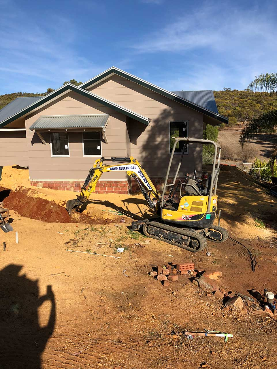 York – Installation and Cabling of new house, electrical and Telstra cabling